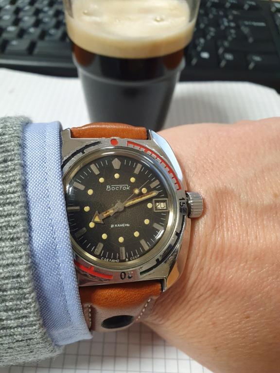 Avis 1er achat montre vintage et gros poignet 20201024