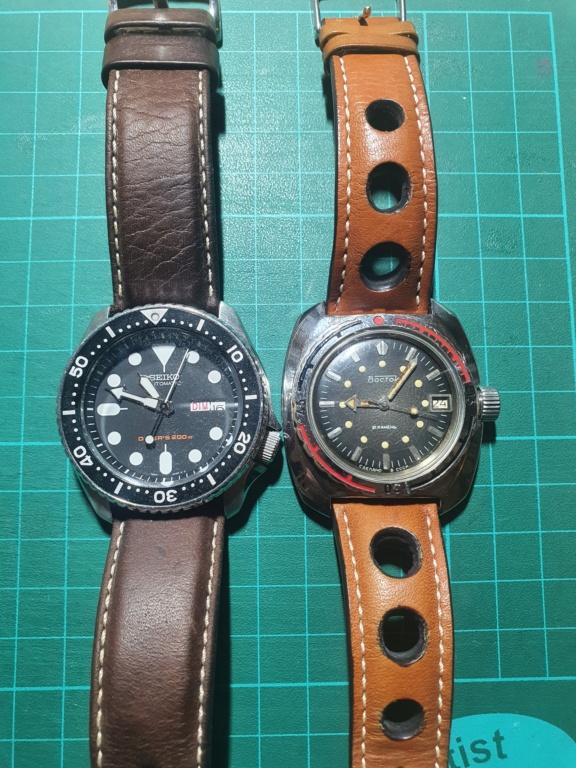Avis 1er achat montre vintage et gros poignet 20210110