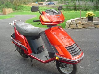 Honda elite 150 de 1985 Honda_11