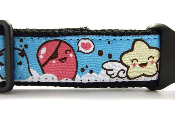 Kappachan: jolis colliers pour chien Rainbo10
