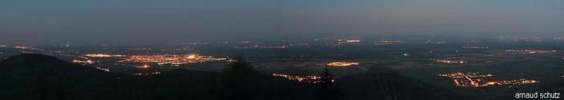 pollution lumineuse au Centre Alsace Pano210