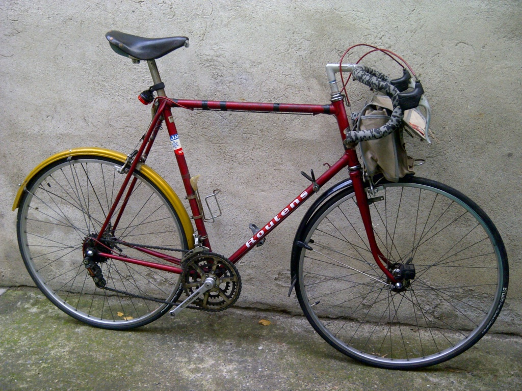 Randonneuse légère/cyclo Jo Routens 1970 environ Img-2038