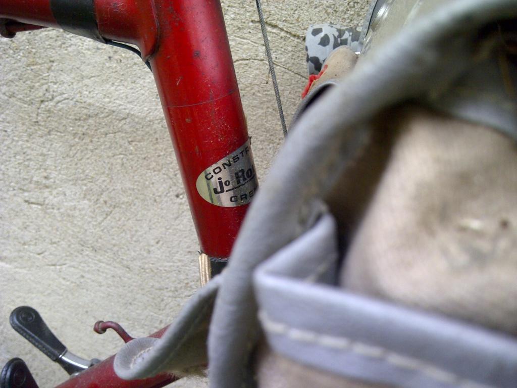 Randonneuse légère/cyclo Jo Routens 1970 environ Img-2039