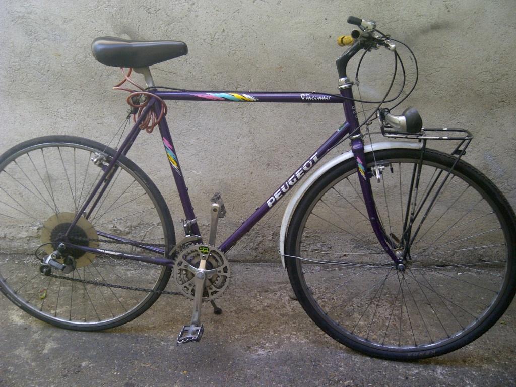 Montage vélotaf sur base Peugeot vincennes 1989 J110