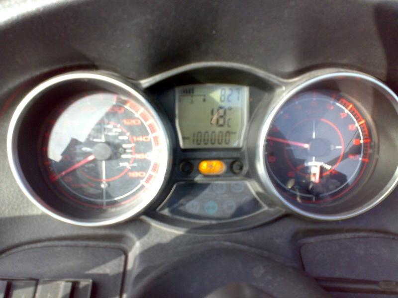 Quel kilométrage peut atteindre le bloc moteur Master du Mp3 et Fuoco 98176410