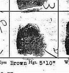 X - WALT DISNEY - One of his fingerprints shows an unusual characteristic! Finger10