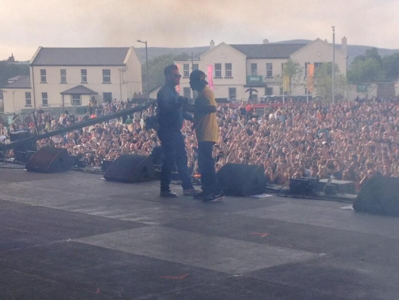 BBC Radio1 Big Weekend Robbie et Dizzee Rascal 24.05.13 13bbc115