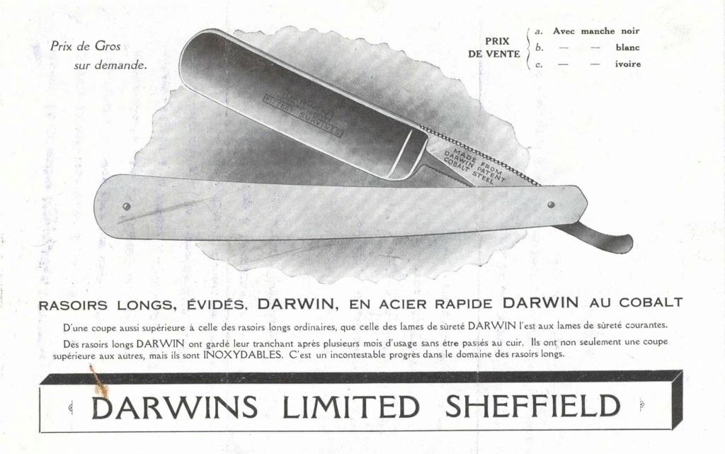 Rasoir Darwin - triple life silversteel 0f157610