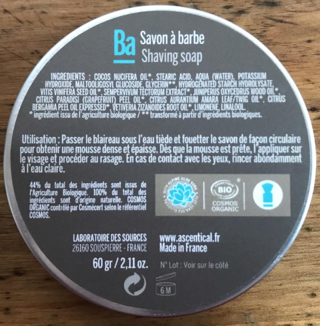 Ascentical - Savon à barbe  Abbb5310