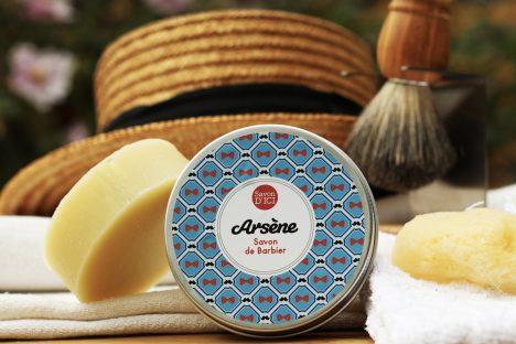 savondici - arsene - savon à barbe Arsene10