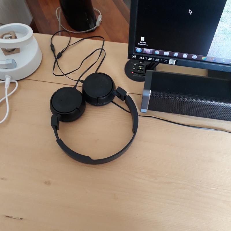 Support de casque audio 20200513
