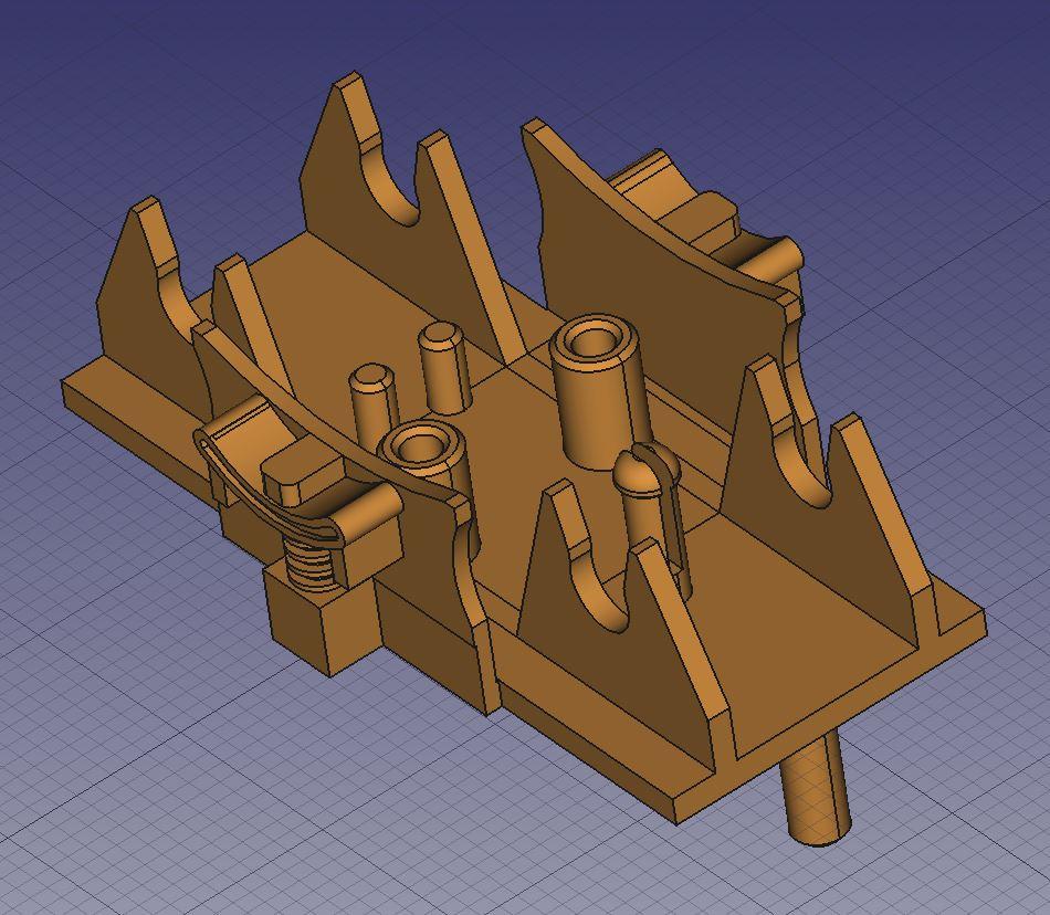 Une nouvelle venue dans mon atelier impression 3D Captu100