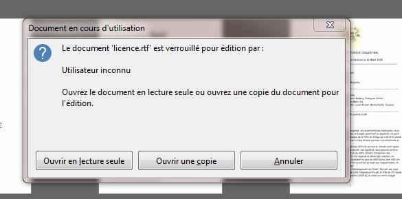 Libre Office qui bloque Captur76