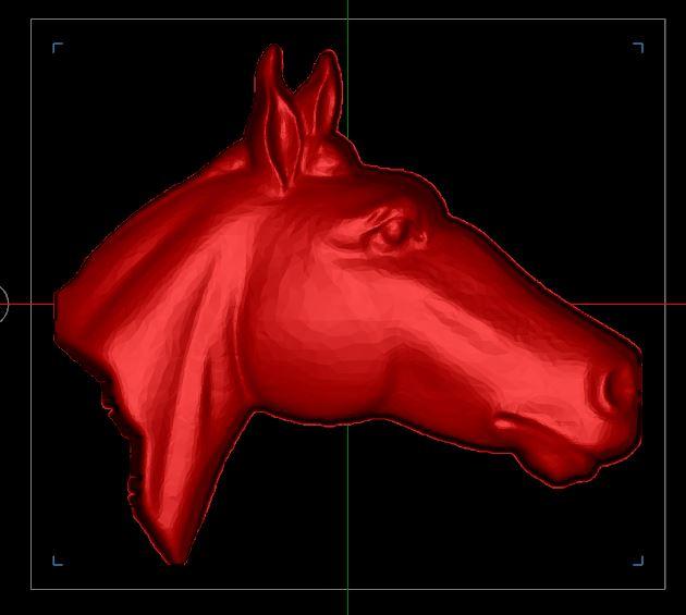 Contour d'une forme 3D Captur82
