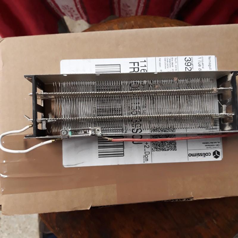 controle température sur seche serviettes Pizoce10
