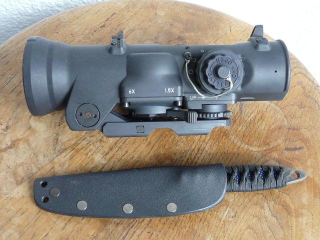 Combinaison SIG 553 + Eotech 553 + magnifier  P1020610