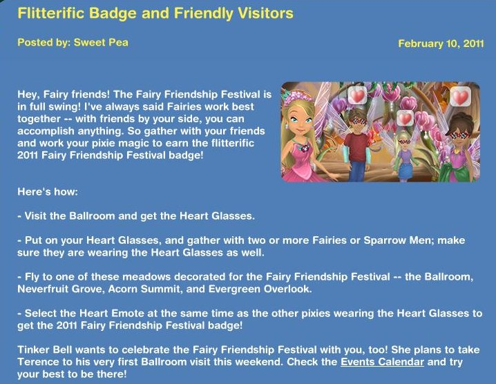 Fliterific Badge and Friendlay Visitors 113
