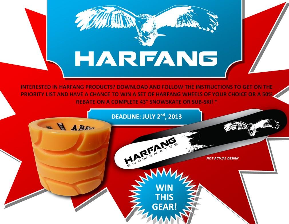Aidez-nous et courez la chance de remporter le concours! Harfan13