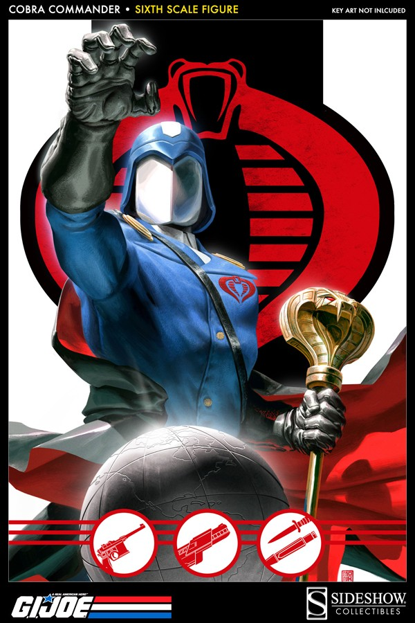 Cobra Commander Sideshow 1:6 10013410
