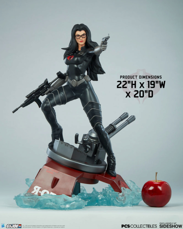 Sideshow Baroness Statue by Pop Culture Shock Barone13