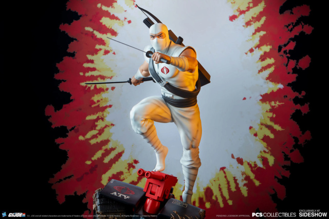 Sideshow Storm Shadow Arashikage Statue by Pop Culture Shock Storm-10