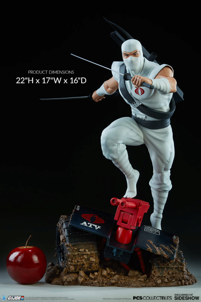 Sideshow Storm Shadow Arashikage Statue by Pop Culture Shock Storm-11