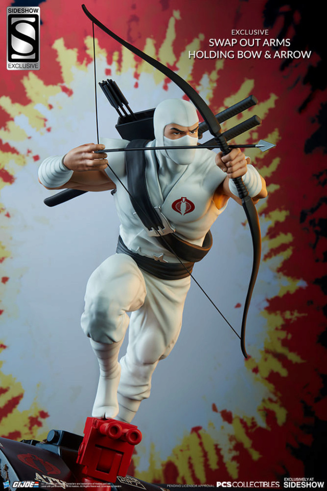 Sideshow Storm Shadow Arashikage Statue by Pop Culture Shock Storm-12