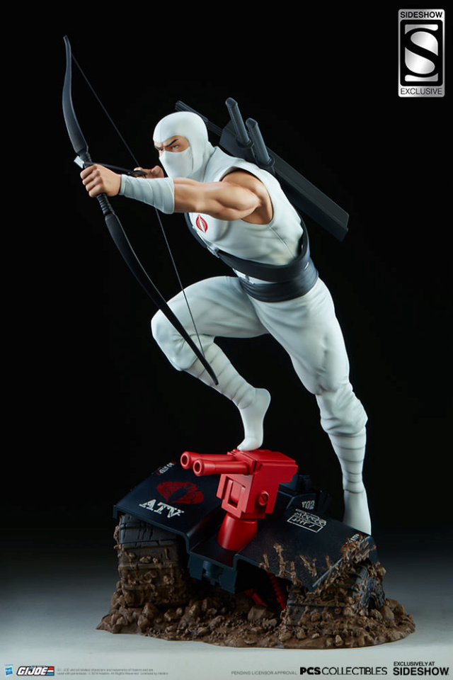 Sideshow Storm Shadow Arashikage Statue by Pop Culture Shock Storm-13