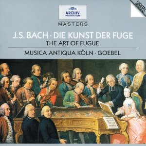 johann sebastian bach -  fugue in D minor 61opgf10