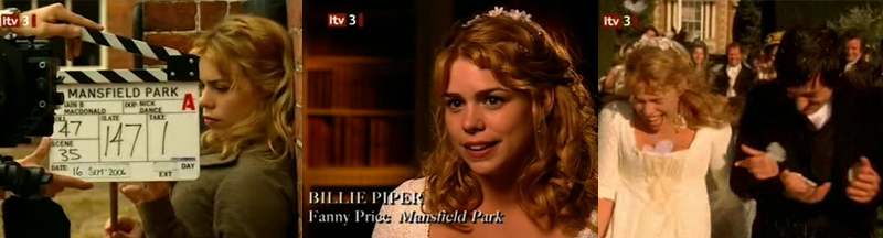 The Story of the Costume Drama (ITV3) Billie10