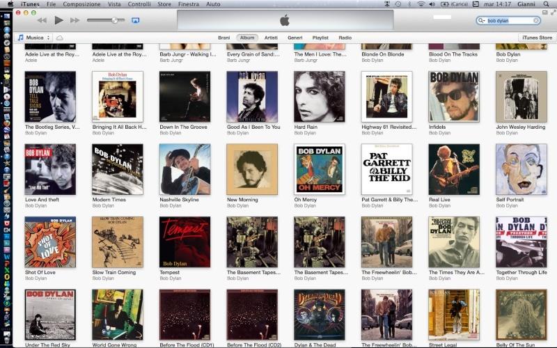 un'artista da scoprire: Bob Dylan Scherm10