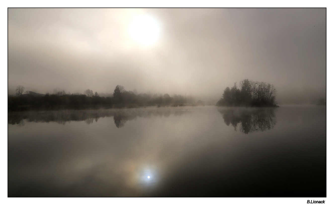 Brume sur le lac Brume10