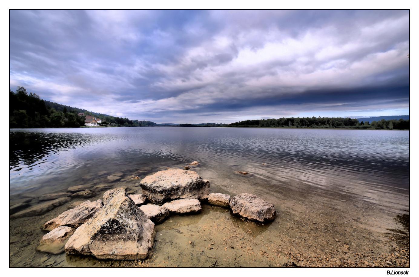 Au lac de l'Abbaye Lacabb10
