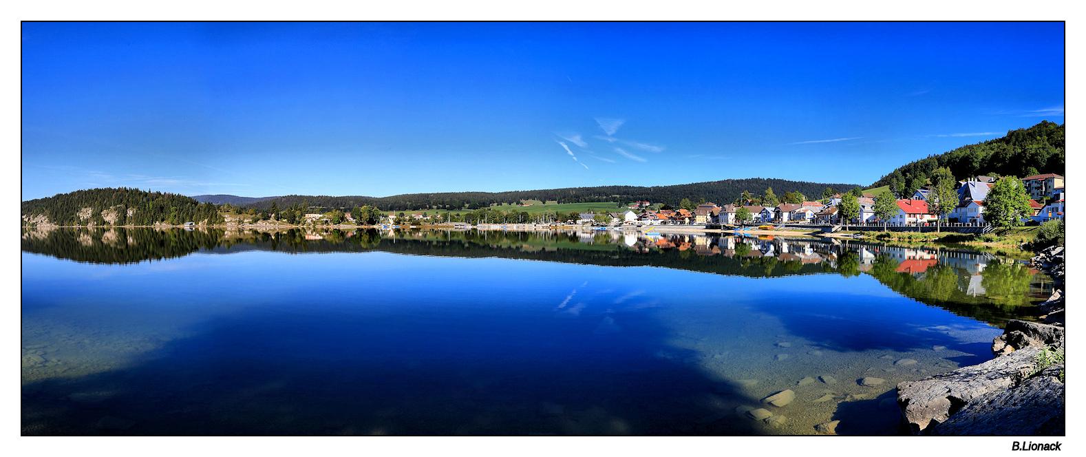 Le Pont (village vaudois au bord du lac de Joux) Lepont10