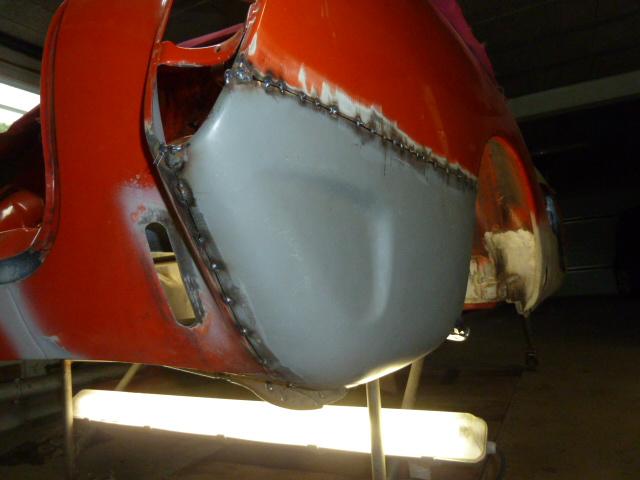 denis du bas rhin et sa Karmann Ghia de 73 sortie de grange - Page 12 P1100115