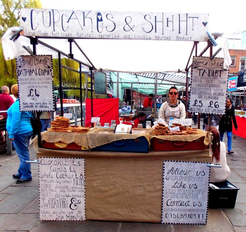 Mon voyage en Grande Bretagne - 9 - Londres , Camden Market Camden13