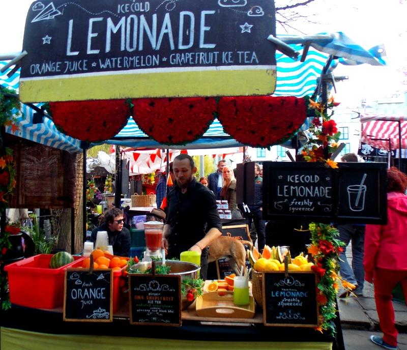 Mon voyage en Grande Bretagne - 9 - Londres , Camden Market Camden14