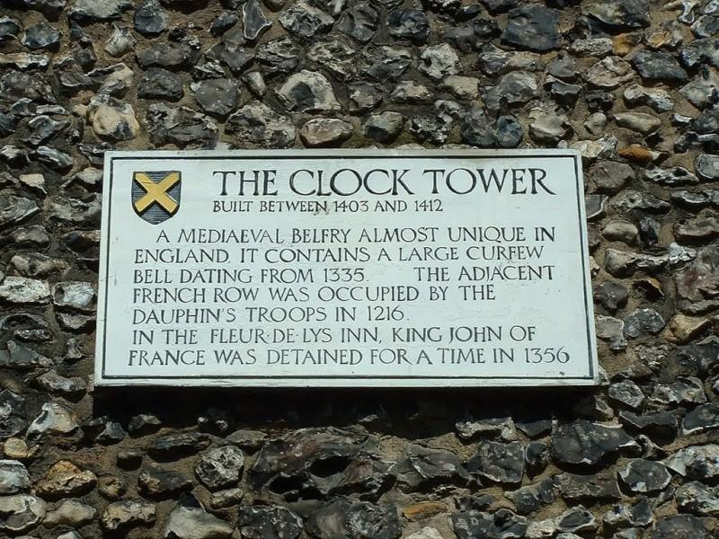Mon voyage en Grande Bretagne - 7 - St Albans ( 2 ) Clock_10