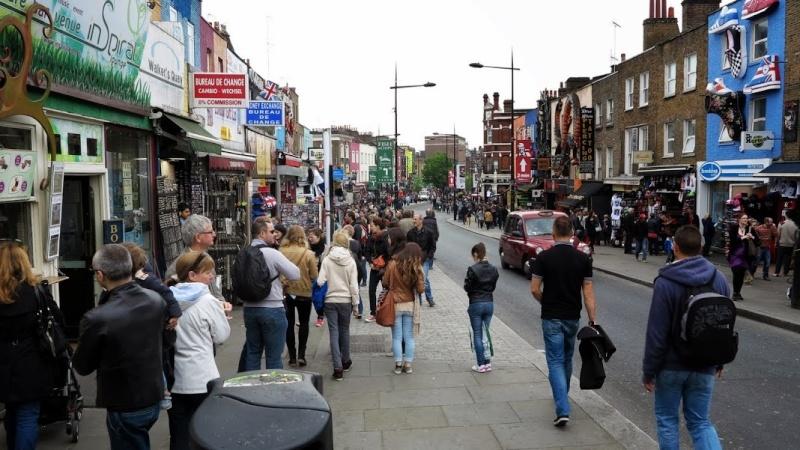 Mon voyage en Grande Bretagne - 9 - Londres , Camden Market H21_bm10