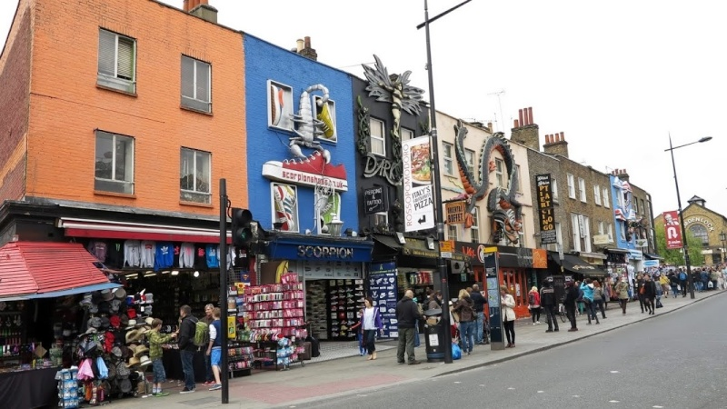 Mon voyage en Grande Bretagne - 9 - Londres , Camden Market H22_bm10