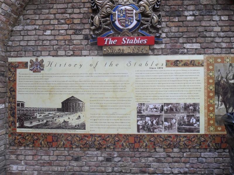 Mon voyage en Grande Bretagne - 9 - Londres , Camden Market Sam_2611