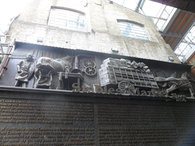 Mon voyage en Grande Bretagne - 9 - Londres , Camden Market Sam_2617