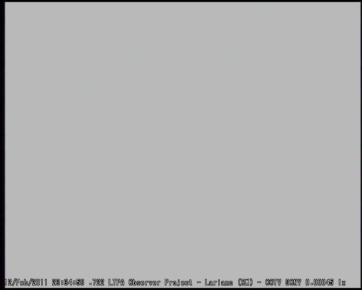 SUPERBOLIDE ripreso il 12 Febbraio 2011 - Lariano (RM) M2011020