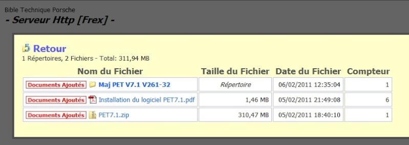 Logiciel PET 7.1 & 7.2  avec Tuto installation en Francais [Dispo ICI !] - Page 3 Pet7_110