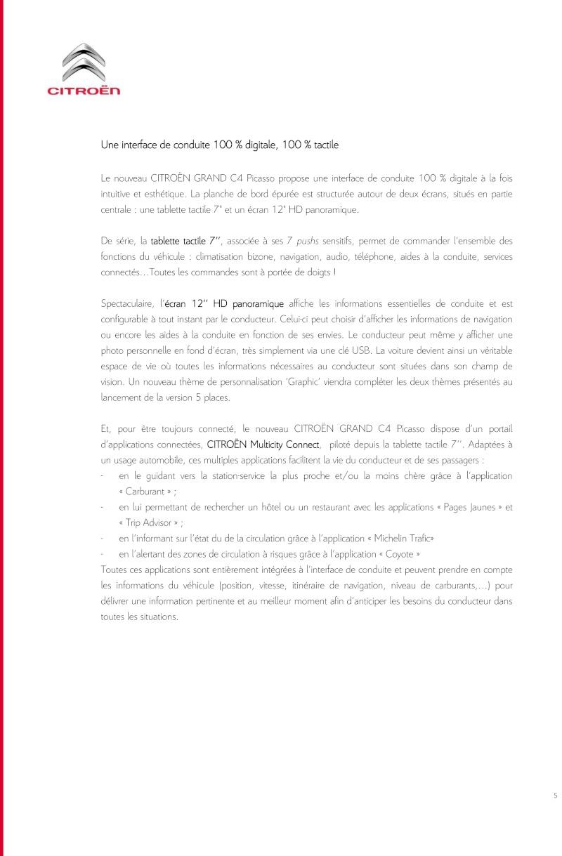 [SUJET OFFICIEL] Citroën Grand C4 Picasso II  - Page 4 Dp_nou14