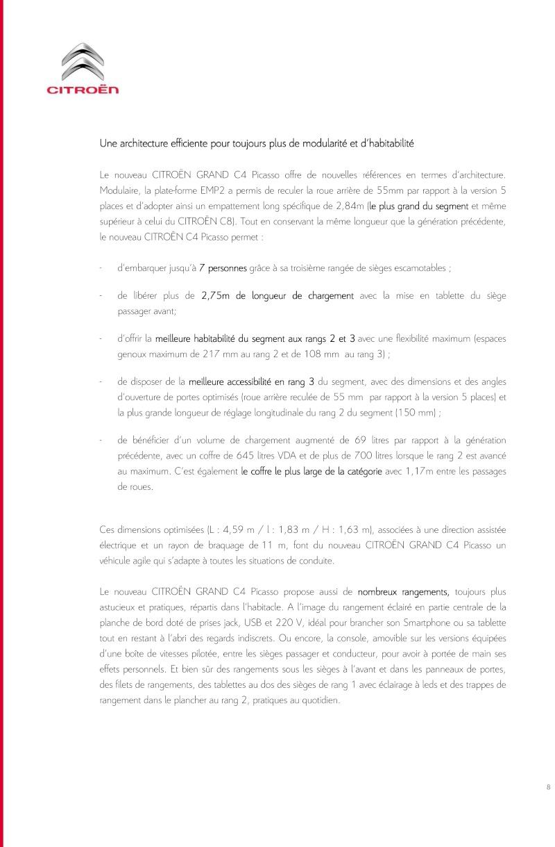 [SUJET OFFICIEL] Citroën Grand C4 Picasso II  - Page 4 Dp_nou17