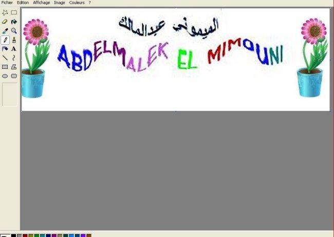 Infographie logiels برامج معالجة الصور Mimoun12