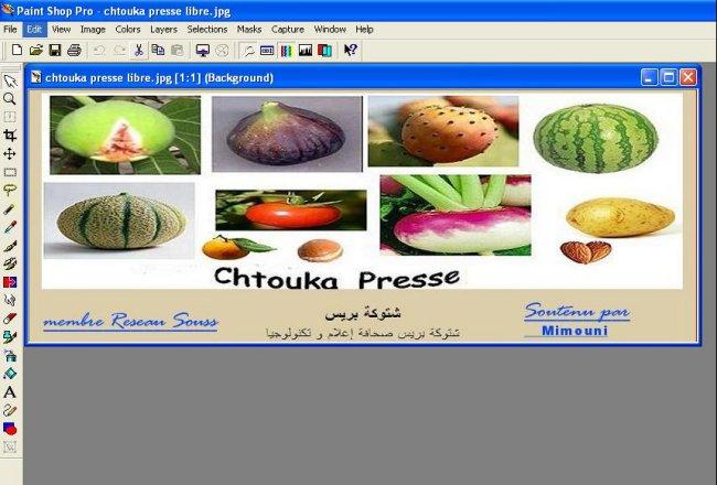 Infographie logiels برامج معالجة الصور Mimoun13