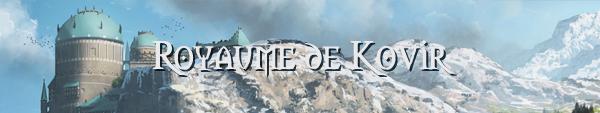 Chapitre II : Royaumes et nations Kovir14