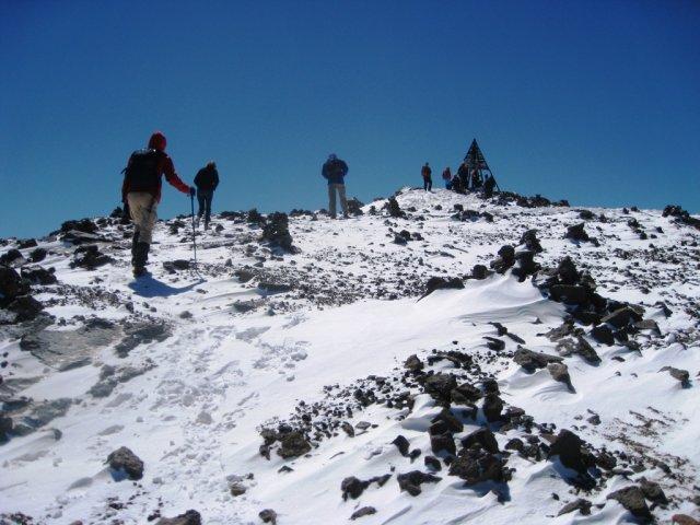 طريق الثلوج  في المغرب          La route de la neige au Maroc  Mimoun10